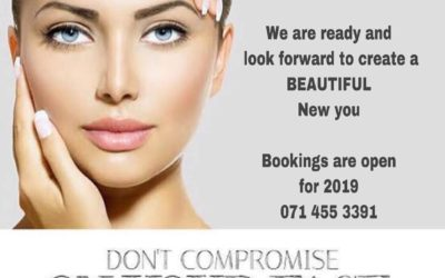 We are ready and look forward to create a BEAUTIFUL New you!